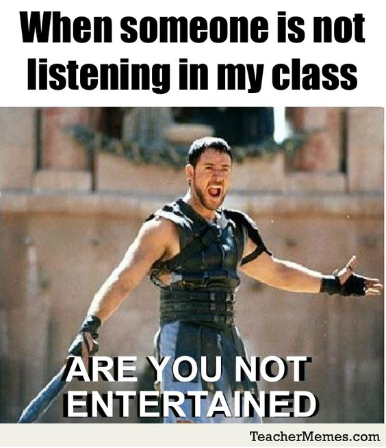 Something is. funny teacher memes can