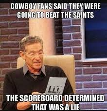 Top 18 cowboys beat saints meme