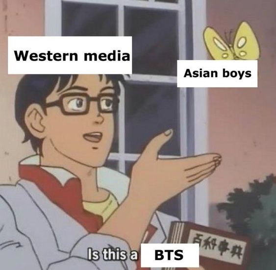 25 Thinking Meme BTS